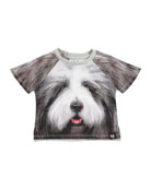 Even Hairy Dog Short-Sleeve T-Shirt, Size 6-24 Months