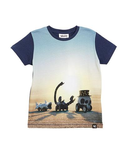 Ragnij Black Rock Desert Short-Sleeve T-Shirt, Size 4-10
