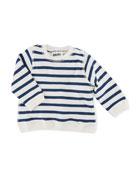 Dennis Striped Pullover Sweatshirt, Size 6-24 Months