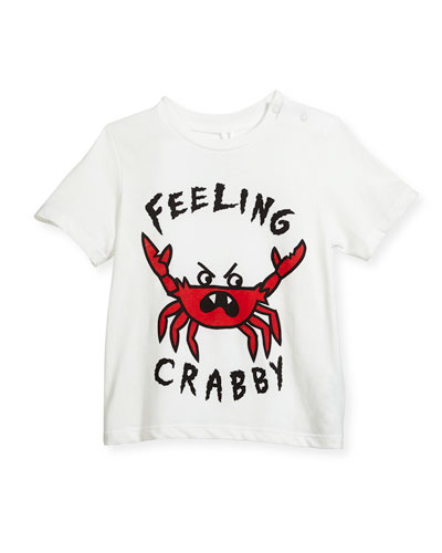 Chuckle Feeling Crabby T-Shirt, Size 12-36 Months
