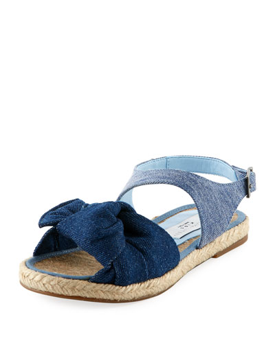 Rori Denim Espadrille Sandal, Toddler/Kid