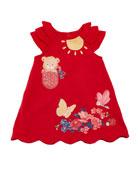 Knit Little Bear Dress, Size 6-36 Months