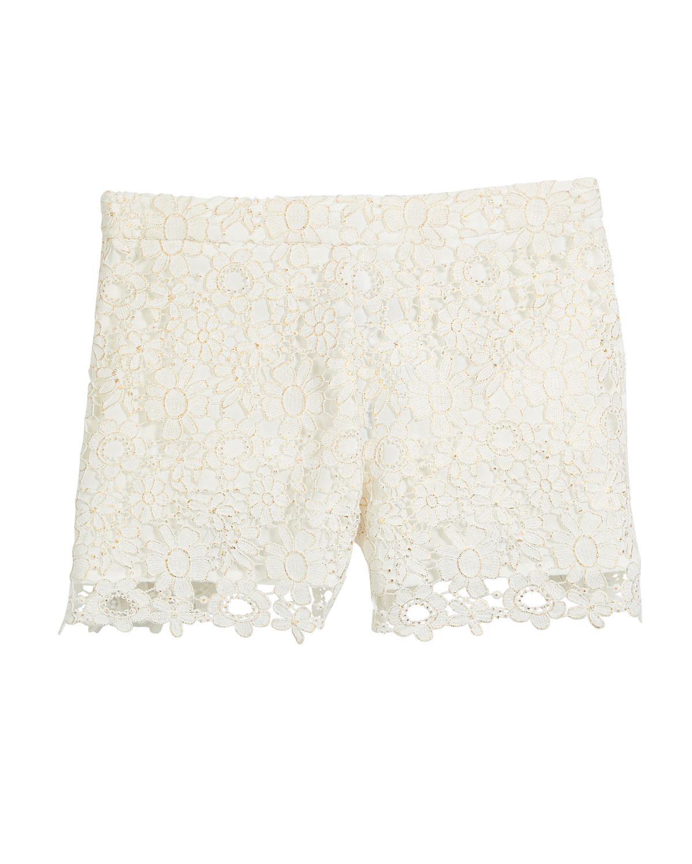 Lace Shorts Size 816
