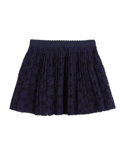 Eyelet Lace Skirt, Size 3-7