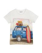 Surf Van Short-Sleeve T-Shirt, Size 4-7