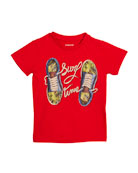 Surf Time Sneaker T-Shirt, Size 3-7