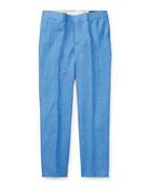 Woodsman Pleated Pants, Blue, Size 2-3