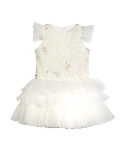 Mini Ballerina Tulle Dress, Size 8