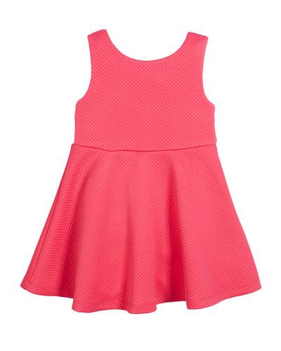 vivian cutout-back dress, size 2-6x