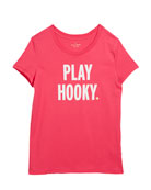play hooky graphic tee, size 7-14