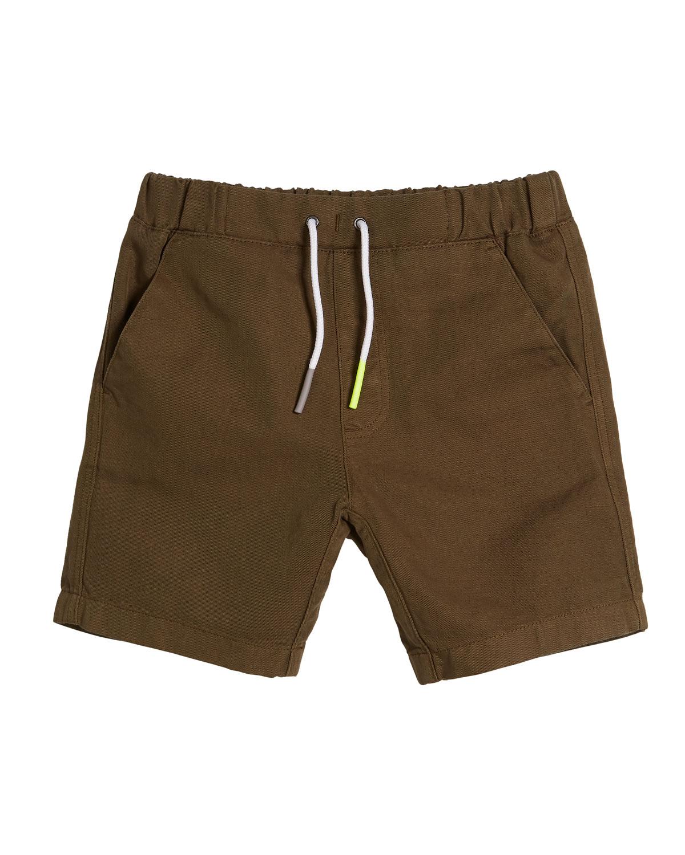 Curran Drawstring Bermuda Shorts Size 414