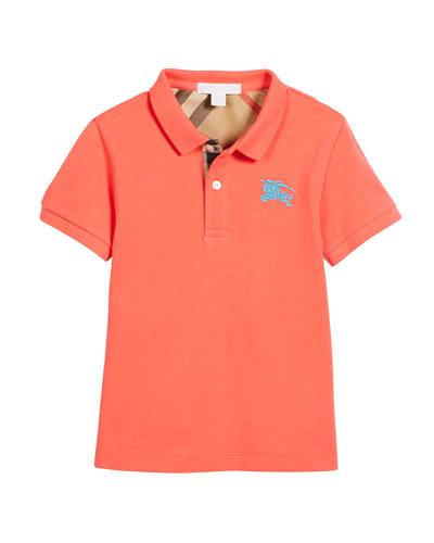 Short-Sleeve Polo Shirt, Size 4-14