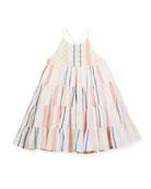 Tiered Spaghetti-Strap Dress, Size 2-6