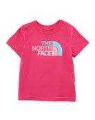 Short-Sleeve Logo Graphic Tee, Size 2-4T