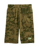 Mak Jersey Camo Shorts, Size XXS-XL