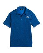 Knit Pique Short-Sleeve Polo, Size XXS-XL