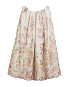 Embroidered Sweet Pea Lace Dress, Size 2-6