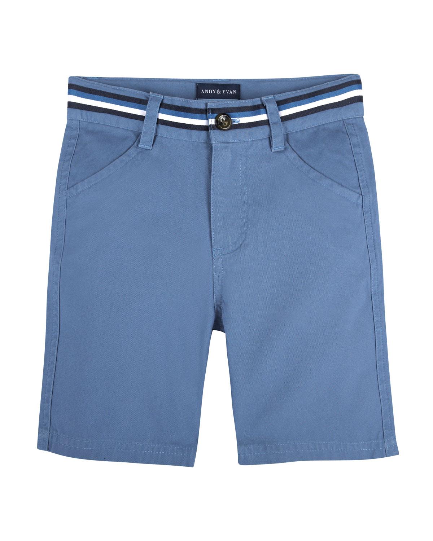 CottonStretch Mock Belt Shorts Size 324 Months