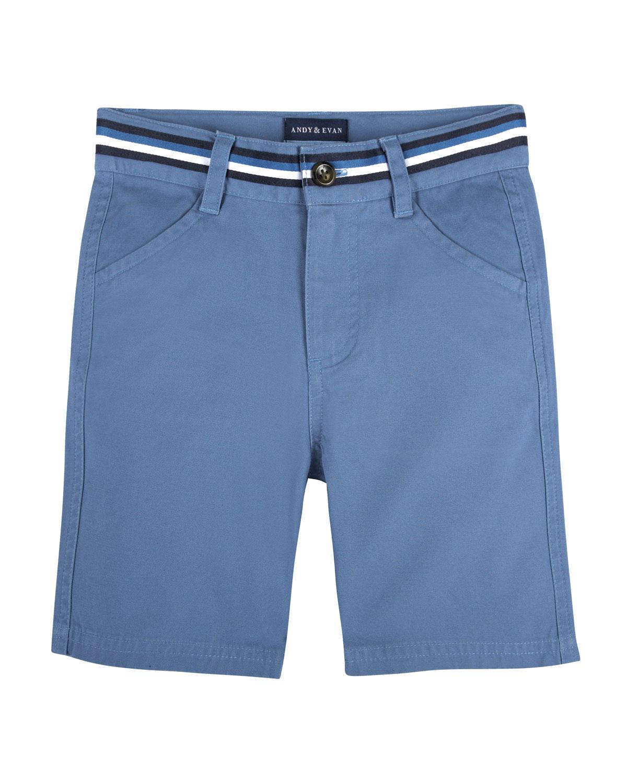 CottonStretch Mock Belt Shorts Size 27