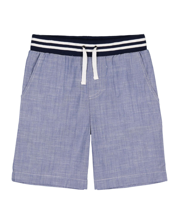 Chambray Drawstring Jogger Shorts Size 924 Months