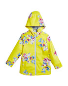 Raindance Floral Hooded Raincoat, Size 3-10
