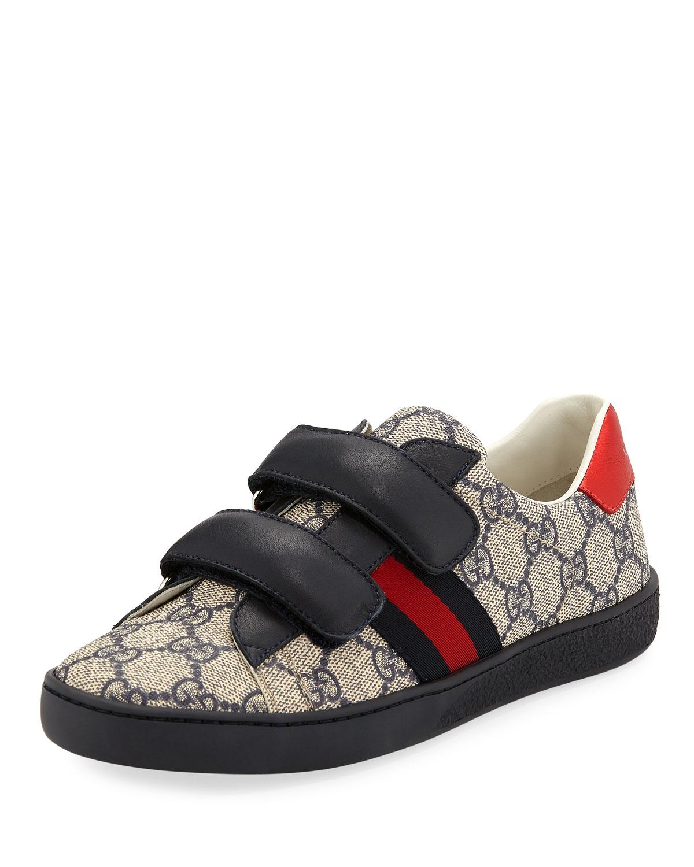 New Ace GG Supreme Canvas WebTrim Sneakers Kids