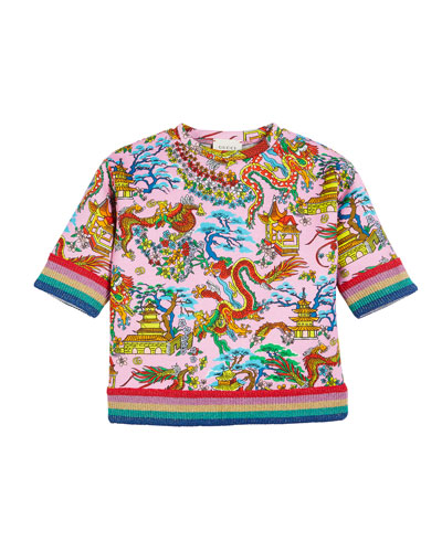 Gucci Long Sleeves Top  e31b3d4a3c1c
