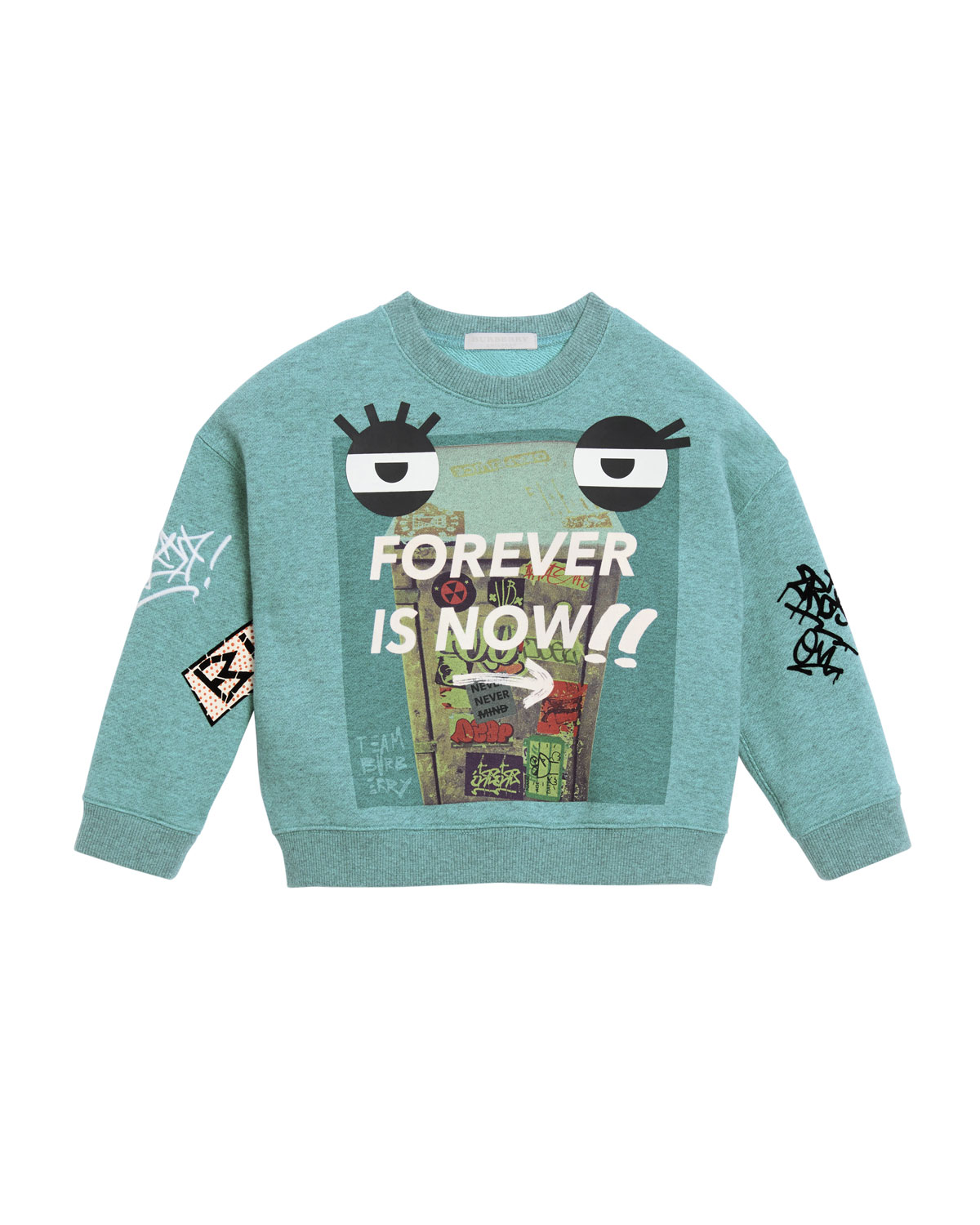 Forever Is Now Graphic Sweatshirt, Size 4-14