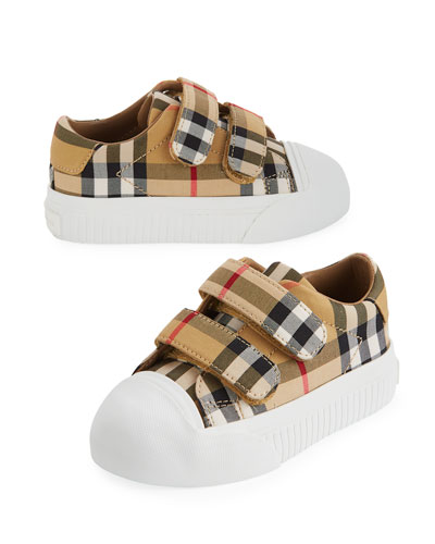b357eed39d56 Quick Look. Burberry · Belside Vintage Check Canvas Sneakers ...