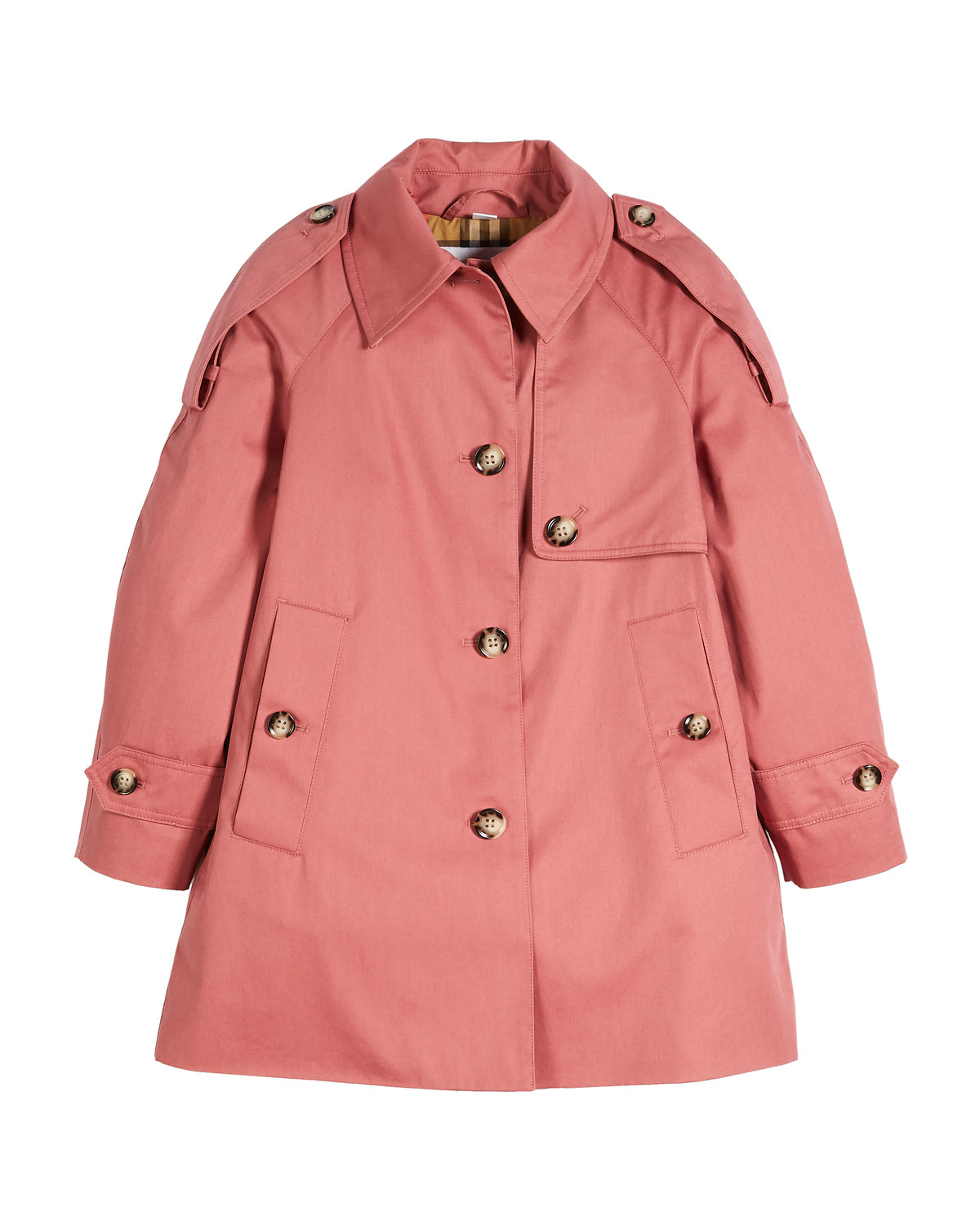Danica Trench Top Coat, Size 4-14