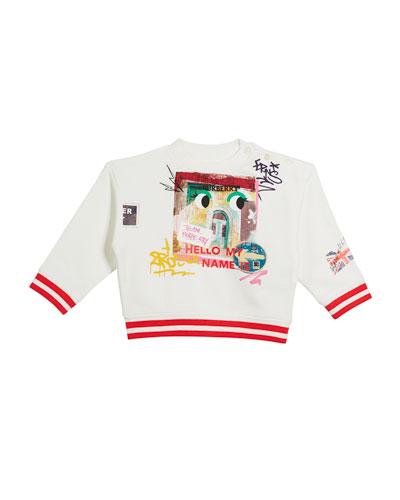 My Name Graphic Sweatshirt, Size 12M-3