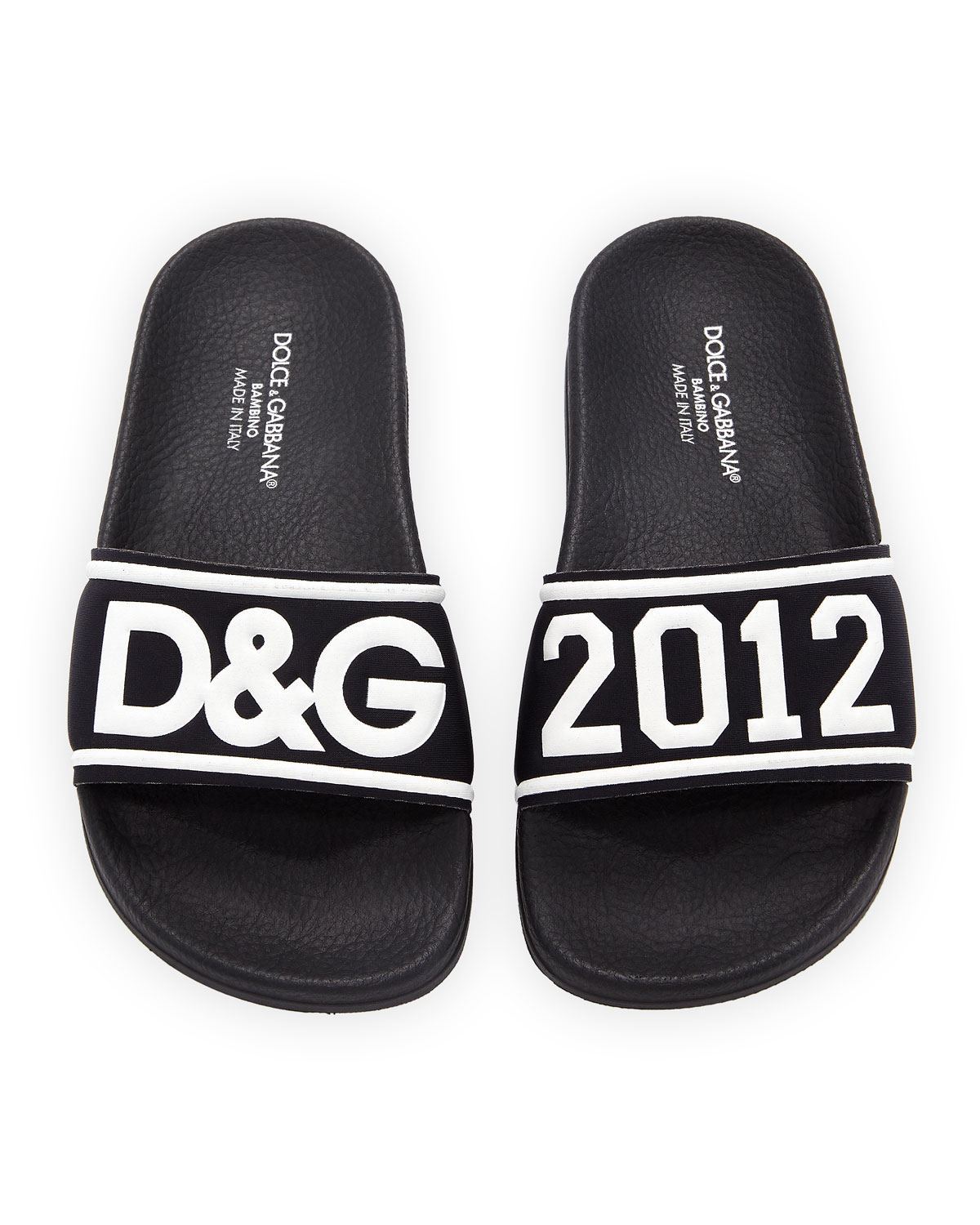 Chiabatta D & G 2012 Pool Slide Sandals, Toddler/Kids