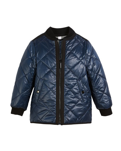 fc8a08580dd Quick Look. Burberry · Ila Reversible Quilted Bomber Jacket
