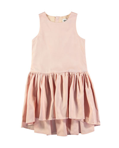 Candece Sleeveless Drop-Waist Dress, Size 3T-12