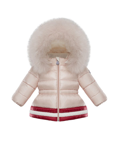 436536c8e Girls Nylon Puffer Jacket at Neiman Marcus