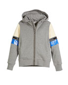 Moncler Completo Colorblock Jacket & Joggers Set, Light