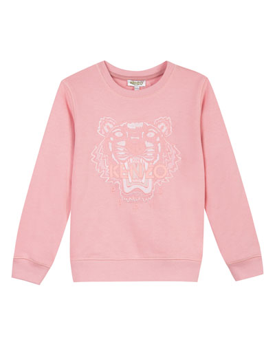 Tiger Face Icon Sweatshirt, Sizes 14-16