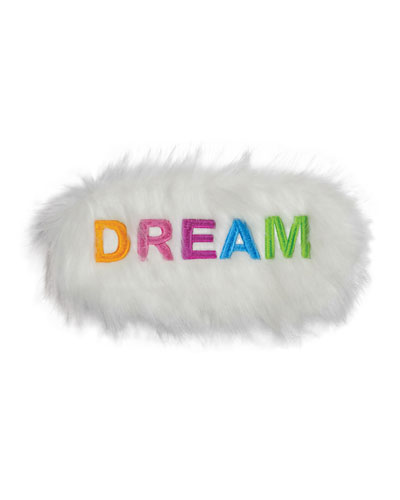 Kids' Embroidered Dream Eye Mask