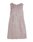 Milly Minis Polka-Dot Sleeveless Dress, Size 8-16