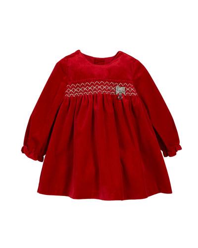 ff985496d Girls Velvet Dress