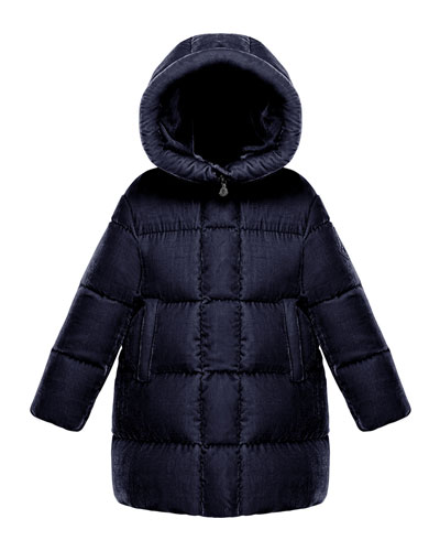 Butor Quilted Velour Jacket, Size 4-6