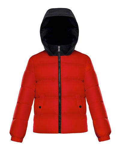 Arthon Two-Tone Hooded Jacket, Size 8-14