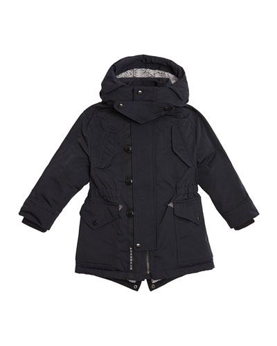 Finlay Utility Jacket w/ Faux Fur Lining, Size 4-14
