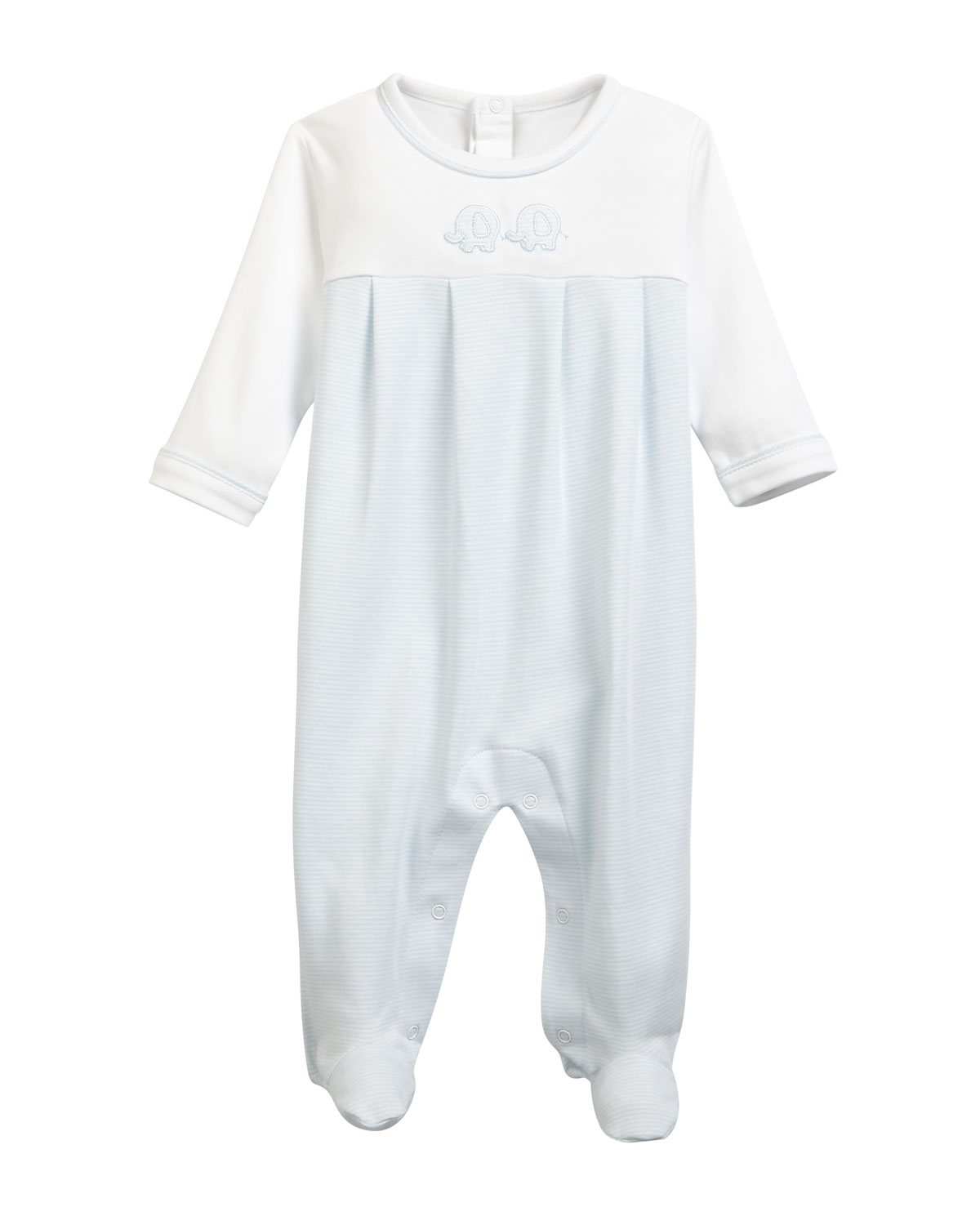 Trunk Mates Pima Footie Playsuit Size Newborn9M
