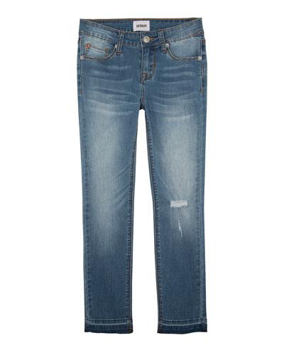 9095cdac8ca Quick Look. Hudson · Girls' Christa Super Stretch Release-Hem Skinny Jeans  ...