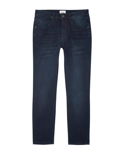 Boys' Jude Slim Skinny Knit Denim Jeans, Size 4-7