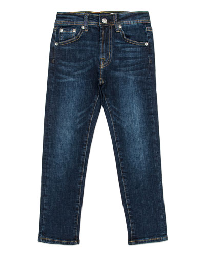 Boys' Stryker Slim Straight Denim Jeans, Size 4-7