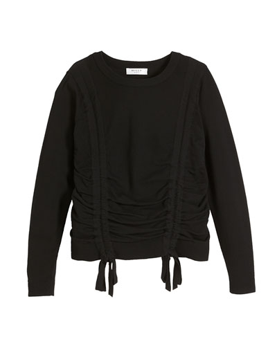 0d85af3424 Quick Look. Milly Minis · Tunnel Merino Wool Sweater ...