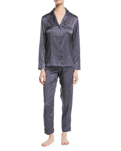 Ellie Leaping Long Pajama Set