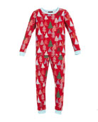 Bedhead Holiday Trees Pajama Set, Size 10-14 and